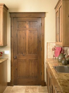Rustic Craftsman - traditional - interior doors - denver - by Sun Mountain, Inc.