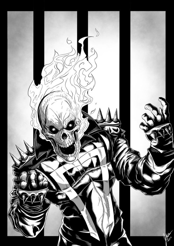 Ghost Rider: Spirit of Vengence by JCKutney21 on DeviantArt
