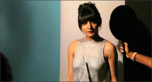 Anushka Sharma On the Sets of Grazia Magazine Cover Photoshoot 2013