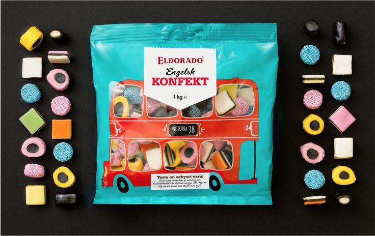 Eldorado candy POND, illustration Gustav Dejert
