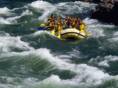 Whitewater Rafting in the Snake River near Jackson Hole, WY