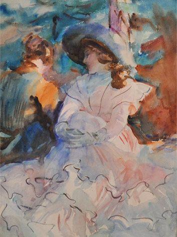 Art history formal analysis Renoir luncheon Essay