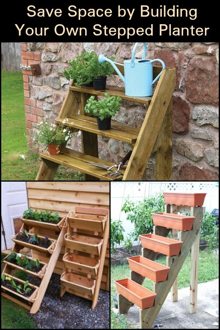 This Stepped Planter Is A Great Way To Save Space In Your