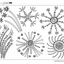 Lovely free coloring sheets - for kids and adults :) Just download.