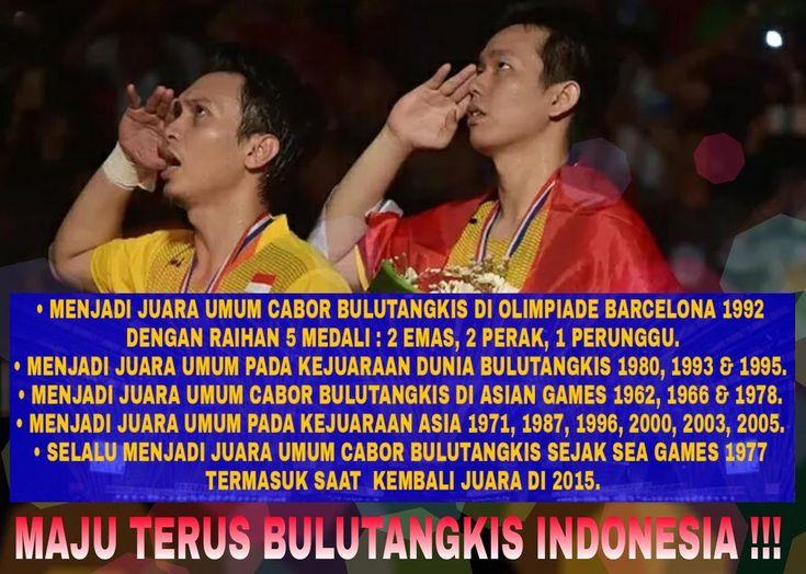 Kisah Sukses Bulutangkis Indonesia !!!