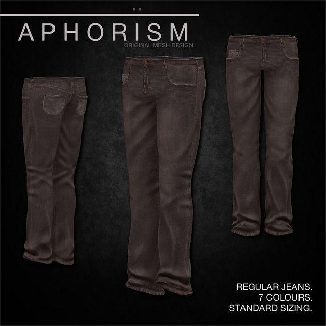 !APHORISM! Regular Jeans vintage 2 | Flickr - Photo Sharing!