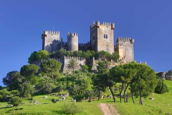 Castillos medievales de España - *Castillo de Almodovar*. Castles Spain.