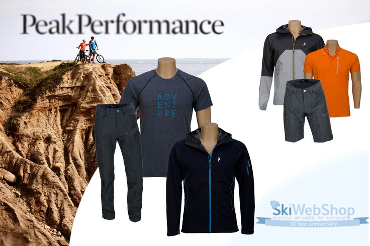 Summer is finally making it's entrance; hello sunshine! What is your favorite summer outfit? Shop Peak Performance at SkiWebShop!   https://www.skiwebshop.com/outdoor-lifestyle/heren/brand/peak-performance