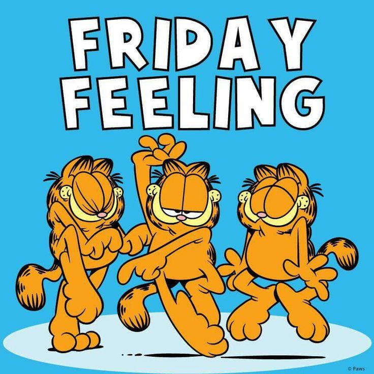 Pin by Ana Muñeca Palma on Garfield | Friday quotes funny ...