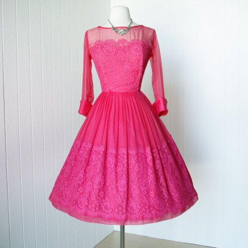 I'm just sure I was born in the wrong decade ... I LOVE the 50's styles and I adore this dress! Google Image Result for http://25.media.tumblr.com/tumblr_m44fmpXzIC1r2wpejo1_500.jpg