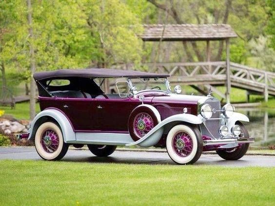 1931 LaSalle 345A 7 Passenger Touring by Fleetwood