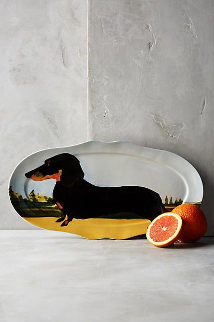 Dog-a-Day Platter - anthropologie.com