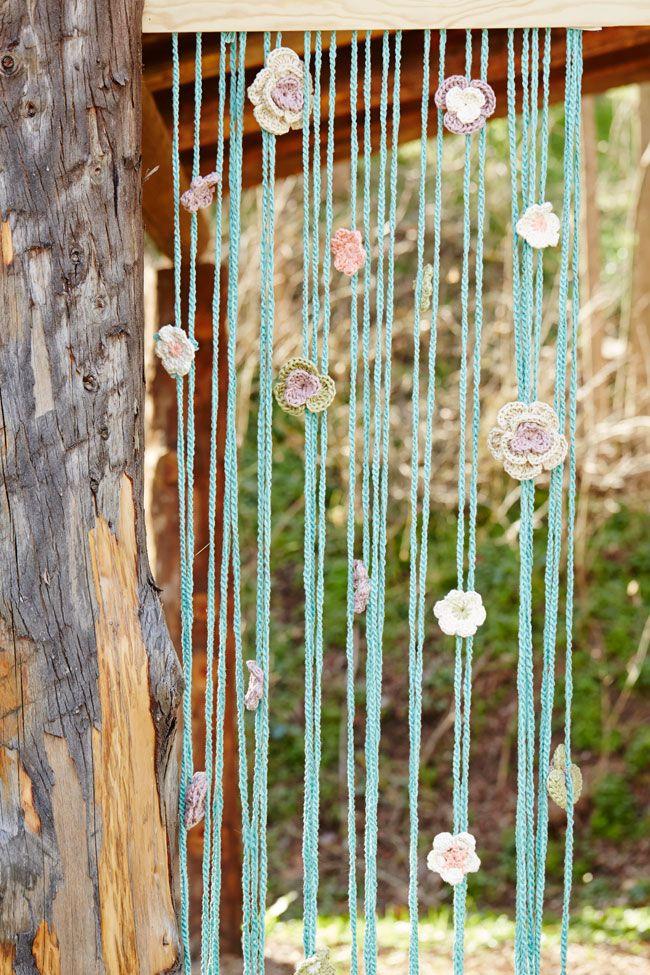 El ganchillo te engancha crochet knit crochet and crayons - Apliques para cortinas ...