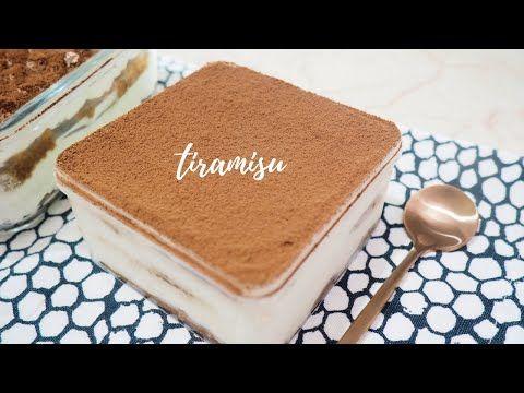 Tiramisu Dessert Box Recipe In 10 Minutes No Bake Only 5 Ingredients Youtube Ide Makanan Hidangan Penutup Makanan