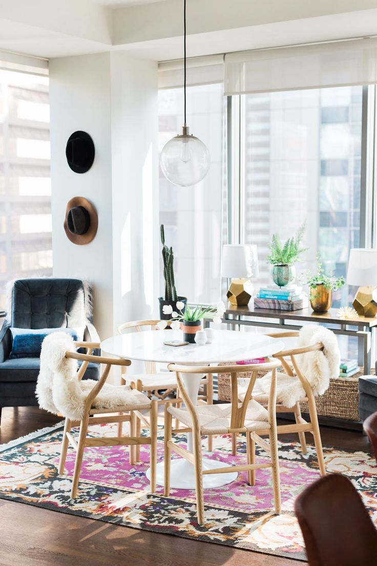 A Fashion Blogger at Home: Blair Staky of The Fox and She Welcomes Us Into her Chicago High-Rise | Rue