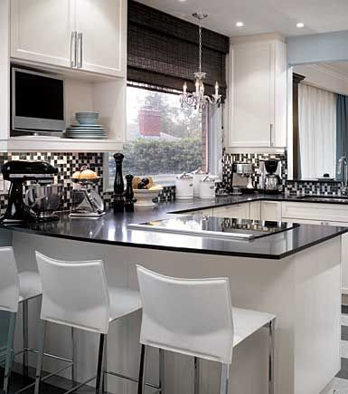 love this candice olsen kitchen (small kitchen design)