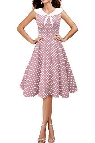 Red dress 50s 45