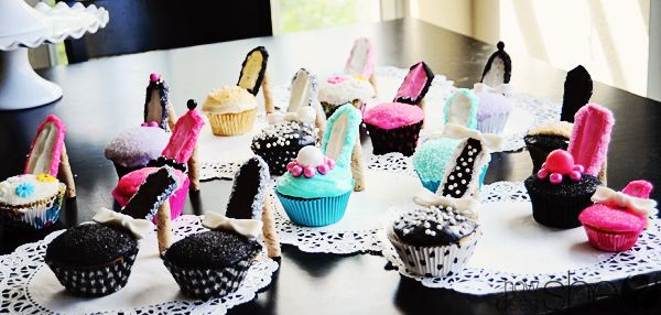 high heel cupcakesCreative Cake, Birthday, High Heel Cupcakes, High Heels Cupcakes, Fun Cupcakes, Bridal Shower, Parties Ideas, Shoes Cupcakes, Cupcakes Rosa-Choqu