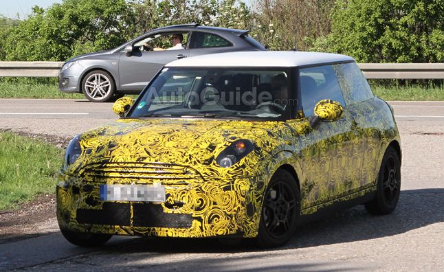 2014 MINI Cooper to get Five-Door Variant. For more, click http://www.autoguide.com/auto-news/2012/06/2014-mini-cooper-to-get-five-door-variant.html