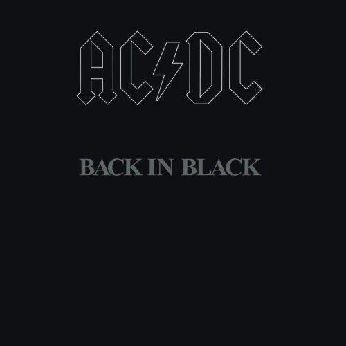 AC/DC - Back in Black. Sådan laves et fedt album cover. Ik' så meget pis!