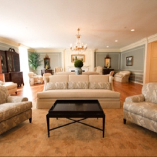 Sorority House Living Room - Courtney Cutchall Cunningham