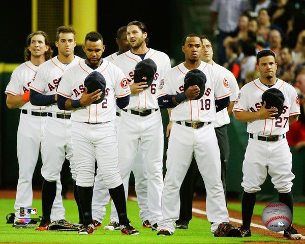 Astros Team >> Houston Astros 2015 Mlb Team Photo Rz120 Select Size