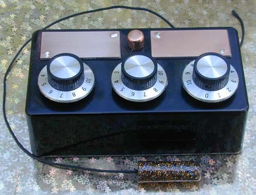 3 Dial Radionics Machine or Black Box V5.5.5 Radun301