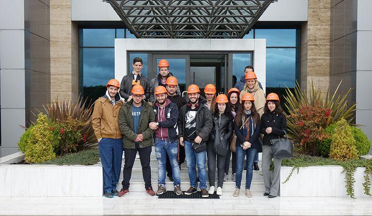 H ISOMAT κοντά στην εκπαίδευση: επίσκεψη φοιτητών Mediterranean College | ΝΕΑ - ΑΝΑΚΟΙΝΩΣΕΙΣ | News