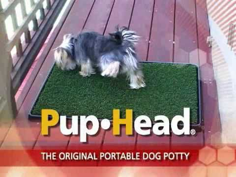 pupgear presents the original portable dog potty that