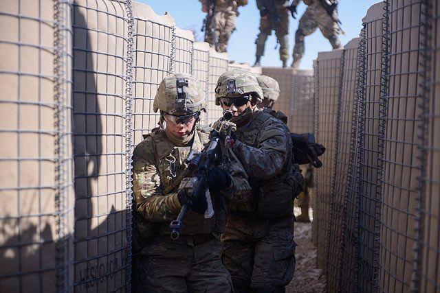"""NEWSru.co.il :: Бойцы """"Гивати"""" и американские военные провели """"городские учения"""". Фоторепортаж"""