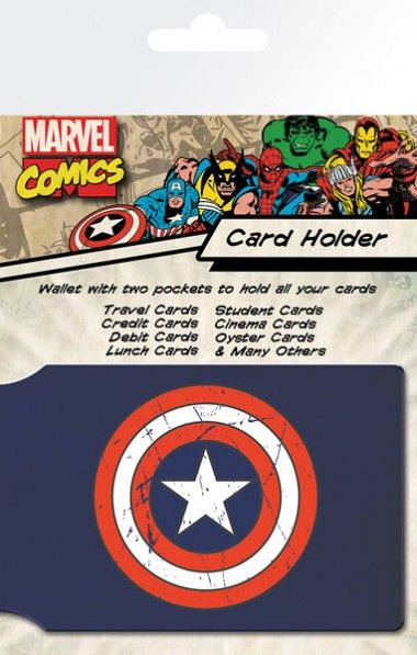 Marvel Kapitan Ameryka Tarcza - okładki na dokumenty i karty