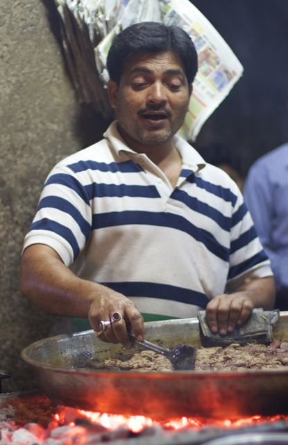 Galouti Kebabs - Food Vendor in Lucknow, India