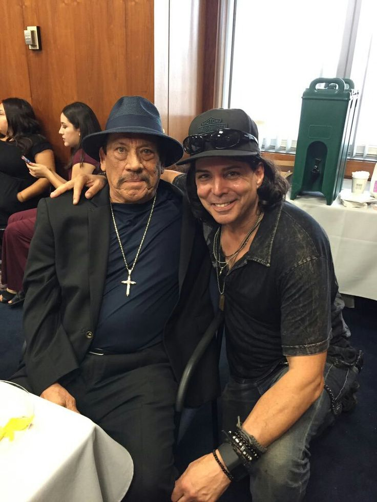 Via Richard Grieco on Twitter. With Danny Trejo