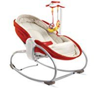 Tiny Love 3 in 1 Rocker Napper, Red