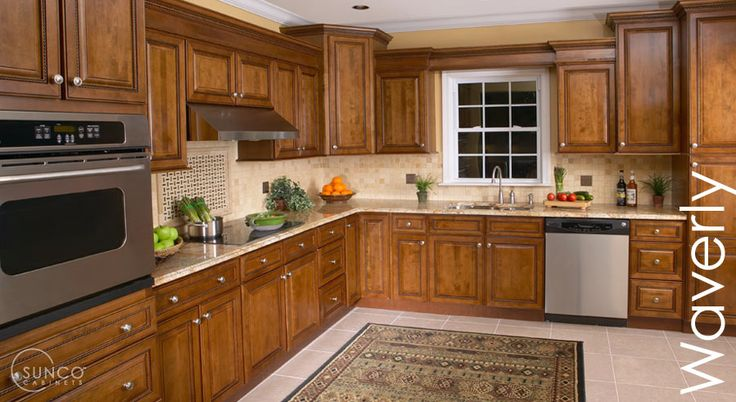 Waverly kitchen design by sunco cabinets sunco for What kind of paint to use on kitchen cabinets for pliage papiers