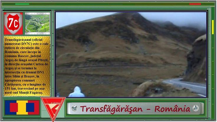Transfăgărăşan - România.