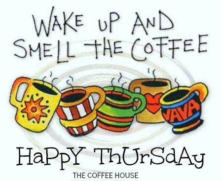 Good morning everyone, Happy Thursday :)