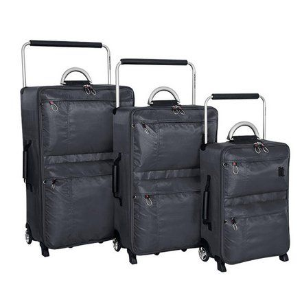 Buy IT Worlds Lightest Small Wheel Suitcase & Travel Liquid Bag at Argos.co.uk, visit Argos.co.uk to shop online for Briefcases and business luggage, Bags, luggage and travel, Sports and leisure