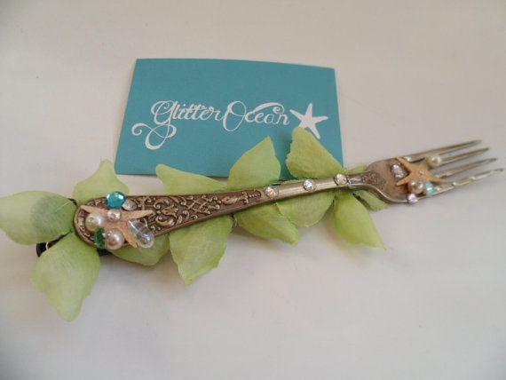 Mermaid Hair Accessory  Dinglehopper  Little by GlitterOcean, £15.00