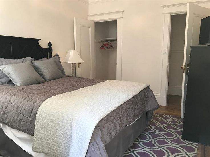 Luxurious charm in premier locale.Peaceful furnished 12x10 room with view of back patio, deep walk in closet, private 3/4 bath, flat screen TV, cable, internet, separate thermostat, etc. Additional use of shared master bath with huge soaking tub and giant 2 person shower