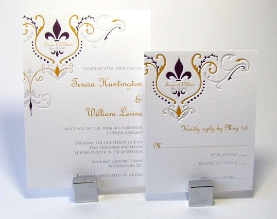 Wedding Invitations New Orleans: 27 Best Images About Wedding