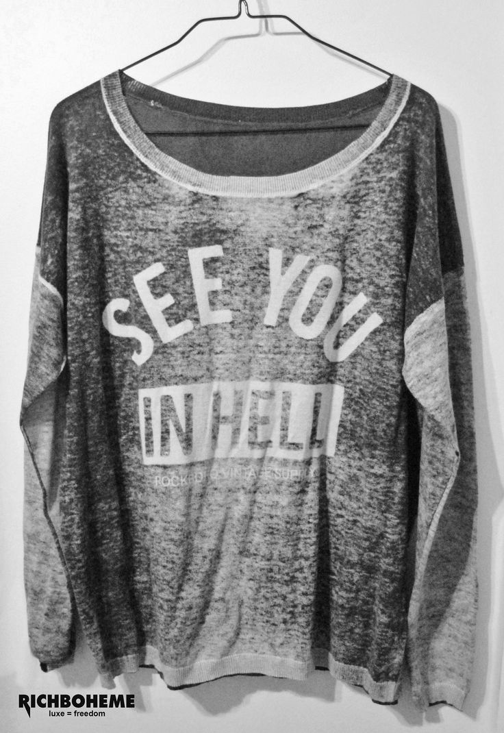 ☆ See You in hell Sweater