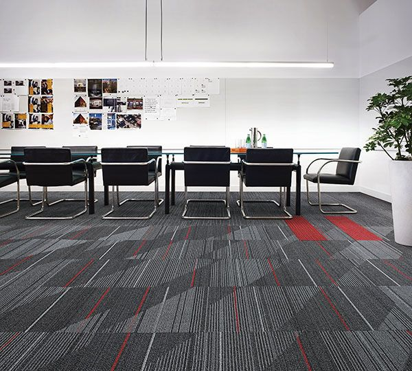 Interface Modular Carpet Tile Detours Onyx Ct111