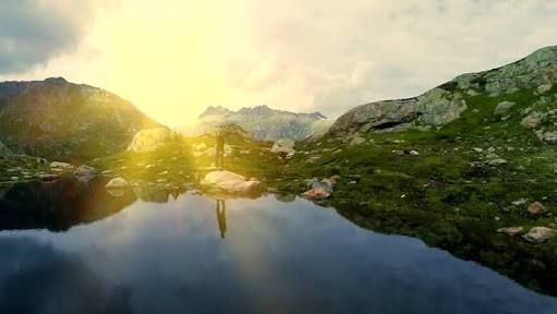 Image result for man alone in nature