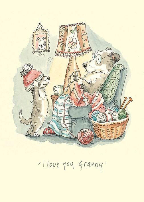 """I love you Granny"" by Anita Jeram"