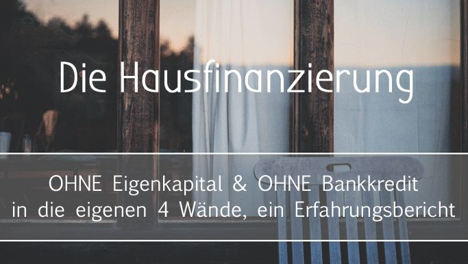 Wie finanziert man ein Haus, ohne einen Bankkredit zu beanspruchen? Die folgende Methode erklärt die Hausfinanzierung ohne Bank... (scheduled via http://www.tailwindapp.com?utm_source=pinterest&utm_medium=twpin&utm_content=post117191559&utm_campaign=scheduler_attribution)