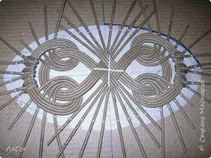 Мастер-класс Плетение Продолжение мастер класса Ажурные крышки Овальные формы Трубочки бумажные фото 18