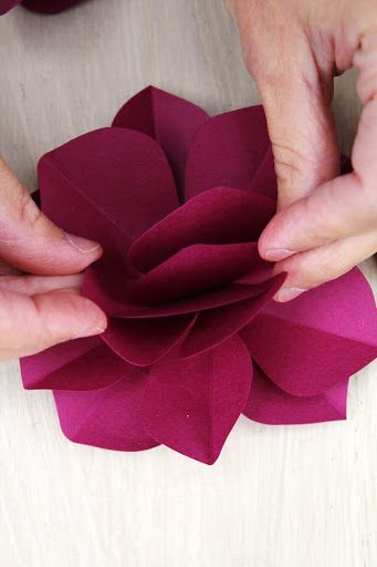 Icing Designs: DIY Paper Flowers
