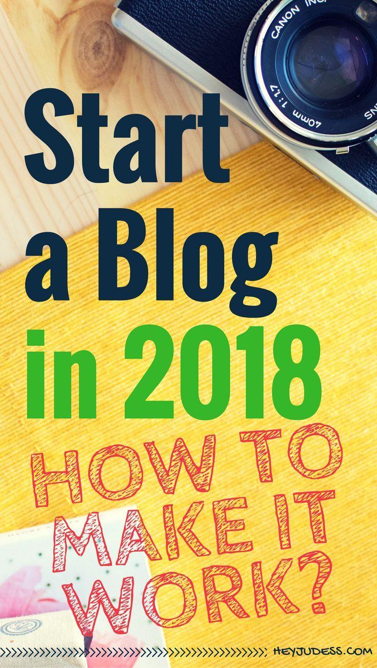Start a Blog in 2018 | How to Start a Wordpress Blog | Blogging for Beginners | #heyjudess #bloggingfornewbies #bloggingtips #bloggingforbeginners