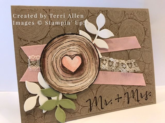 Always & Forever, and Tree Rings stamp sets. Annual catalog 2017 Stampin' Up!
